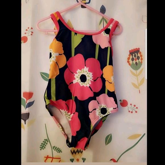 376141fa8 Gymboree Swim | Suit Girls 5 Blooming Nautical | Poshmark